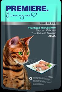 PREMIERE Fine Filets tasak adult tonhal&tintahal 100g