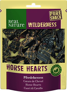 Real Nature Wilderness pure snack lószív 150g
