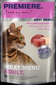 PREMIERE Meat Menü tasak adult húsválogatás 85g