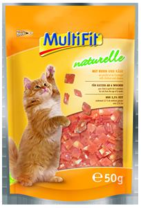 MultiFit naturelle csirke&sajt 50g