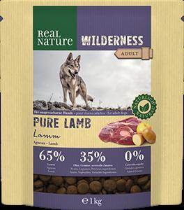 Real Nature Wilderness pure bárány 1kg