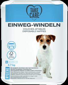 TAKE CARE kutyapelenka eldobható S 14db