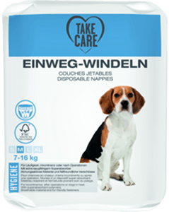 TAKE CARE kutyapelenka eldobható M 14db