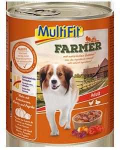 MultiFit Farmer konzerv adult csirke&kacsa 800g