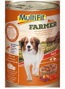 MultiFit Farmer konzerv adult csirke&kacsa 400g