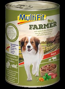 MultiFit Farmer konzerv adult marha&borjú 400g