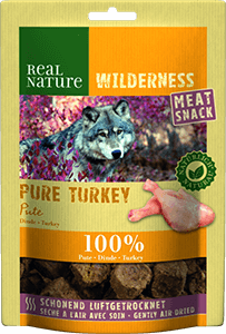 Real Nature Wilderness Meat Snack pulyka 150g