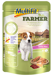 MultiFit Farmer tasak junior csirke&pulyka 100g