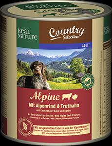 Real Nature Country konzerv adult pulyka&marha 800g