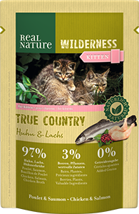 Real Nature Wilderness tasak kitten true country 85g