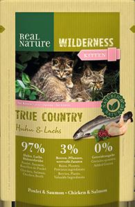 Real Nature Wilderness tasak kitten true country 85g