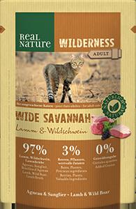 Real Nature Wilderness tasak adult wide savanna 85g