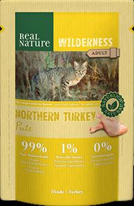 Real Nature Wilderness tasak adult nort. pulyka 85g