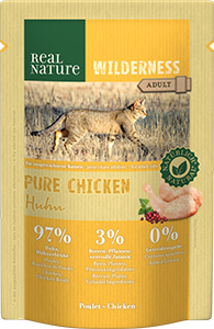 Real Nature Wilderness tasak adult pure csirke 85g