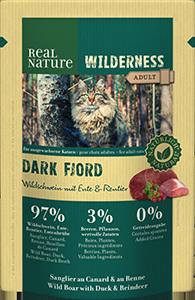 Real Nature Wilderness tasak adult dark fjord 85g
