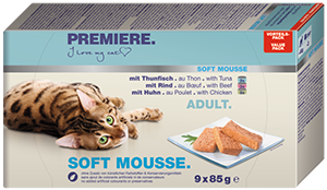 PREMIERE Soft Mousse konzerv MP adult 9x85g