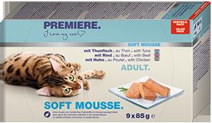 PREMIERE Soft Mousse konzerv MP adult 9x85g
