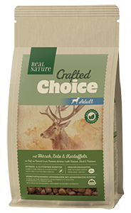 Real Nature Crafted Choice adult szarvas&kacsa 1kg
