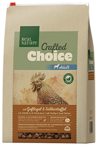 Real Nature Crafted Choice adult szárnyas 3kg
