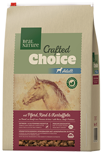 Real Nature Crafted Choice adult ló&marha 3kg