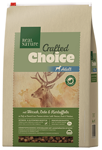 Real Nature Crafted Choice adult szarvas&kacsa 3kg