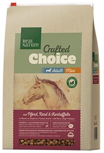 Real Nature Crafted Choice mini adult ló&marha 3kg