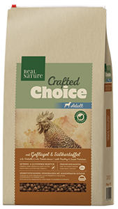 Real Nature Crafted Choice adult szárnyas 10kg