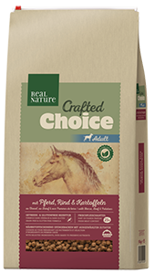 Real Nature Crafted Choice adult ló&marha 10kg