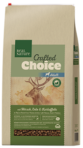 Real Nature Crafted Choice adult szarvas&kacsa 10kg