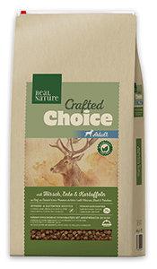 Real Nature Crafted Choice száraz eledel 3kg/10kg (többféle) Pl. Adult ló&marha 3kg