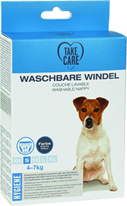 TAKE CARE kutyapelenka mosható szürke S
