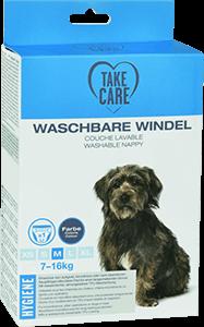 TAKE CARE kutyapelenka mosható szürke M