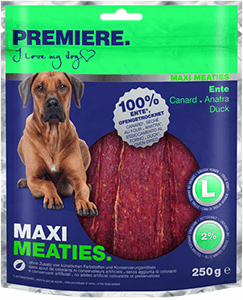 PREMIERE Pure Meaties maxi kacsa 250g