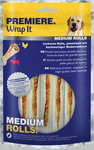 PREMIERE Busy Bites medium rolls csirke 125g