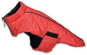 AniOne kutyakabát kifordítható piros (több méret) Pl. 26cm