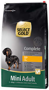 Select Gold Complete mini adult csirke 10kg
