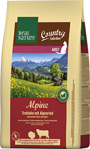 Real Nature Country Alpine adult pulyka&marha 2,5kg