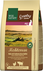 Real Nature Country Mediterran adult bivaly&marha 2,5kg