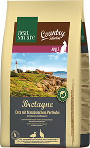Real Nature Country Bretagne adult gyöngytyúk&kacsa 2,5kg