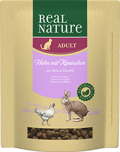 Real Nature Classic adult nyúl&csirke 400g