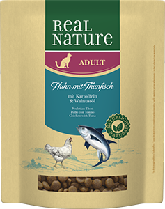 Real Nature Classic adult tonhal&csirke 400g