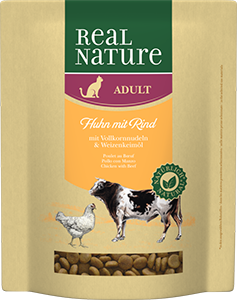 Real Nature Classic adult marha&csirke 400g