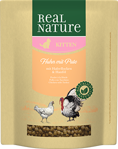 Real Nature Classic kitten pulyka&csirke 400g