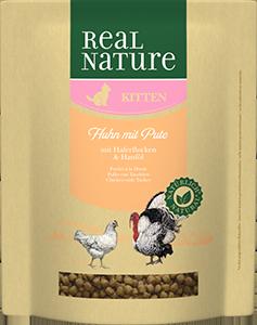 Real Nature Classic kitten pulyka&csirke 400g