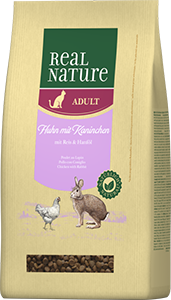 Real Nature Classic adult nyúl&csirke 3kg