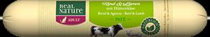 Real Nature Classic szalámi adult marha&bárány 70g