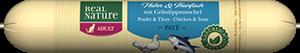 Real Nature Classic szalámi adult csirke&tonhal 70g