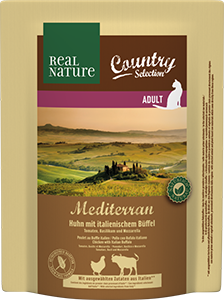 Real Nature Country Mediterran adult bivaly&marha 300g