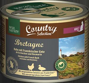 Real Nature Country konzerv adult gyöngytyúk&kacsa 200g