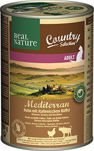 Real Nature Country konzerv adult bivaly&marha 400g